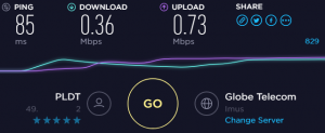 PLDT slow internet on September 21